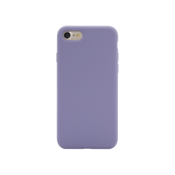 Apple iPhone 7/8 - Silikonski ovitek (liquid silicone) - Soft - Lavender Gray