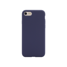 Apple iPhone 7/8 - Silikonski ovitek (liquid silicone) - Soft - Midnight Blue
