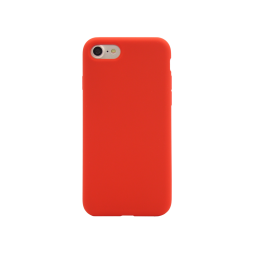 Apple iPhone 7/8 - Silikonski ovitek (liquid silicone) - Soft - Red