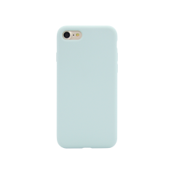 Apple iPhone 7/8 - Silikonski ovitek (liquid silicone) - Soft - Sky Blue