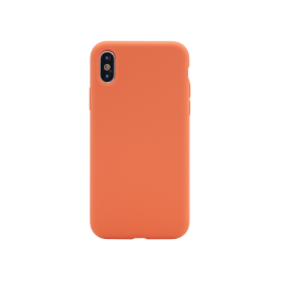 Apple iPhone X/XS - Silikonski ovitek (liquid silicone) - Soft - Nectarine