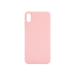 Apple iPhone XS Max - Silikonski ovitek (liquid silicone) - Soft - Candy Pink