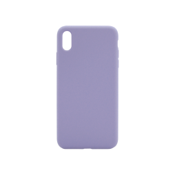 Apple iPhone XS Max - Silikonski ovitek (liquid silicone) - Soft - Lavender Gray