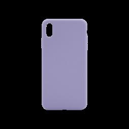 Apple iPhone XS Max - Silikonski ovitek (liquid silicone) - Soft - Lavender Gray