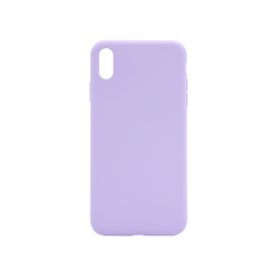 Apple iPhone XS Max - Silikonski ovitek (liquid silicone) - Soft - Lilac Purple