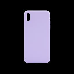 Apple iPhone XS Max - Silikonski ovitek (liquid silicone) - Soft - Lilac Purple