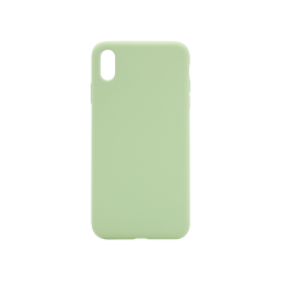 Apple iPhone XS Max - Silikonski ovitek (liquid silicone) - Soft - Mint Green