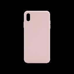 Apple iPhone XS Max - Silikonski ovitek (liquid silicone) - Soft - Pink Sand