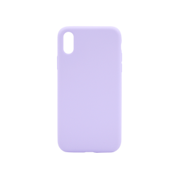 Apple iPhone XR - Silikonski ovitek (liquid silicone) - Soft - Lilac Purple