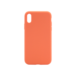Apple iPhone XR - Silikonski ovitek (liquid silicone) - Soft - Nectarine