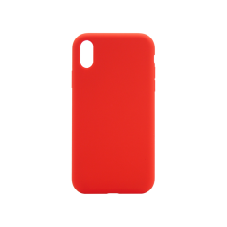 Apple iPhone XR - Silikonski ovitek (liquid silicone) - Soft - Red