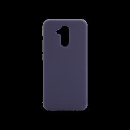 Huawei Mate 20 Lite - Silikonski ovitek (liquid silicone) - Soft - Midnight Blue