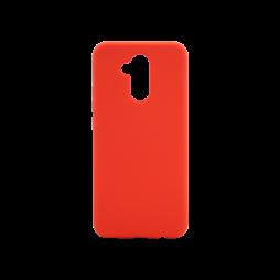 Huawei Mate 20 Lite - Silikonski ovitek (liquid silicone) - Soft - Red