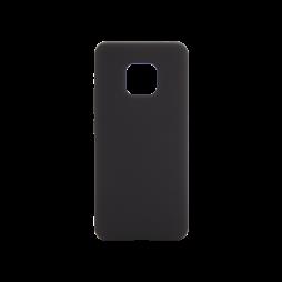Huawei Mate 20 Pro - Silikonski ovitek (liquid silicone) - Soft - Black