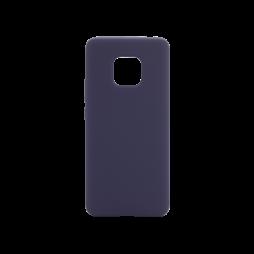 Huawei Mate 20 Pro - Silikonski ovitek (liquid silicone) - Soft - Midnight Blue