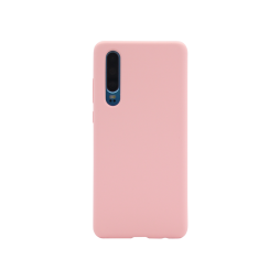 Huawei P30 - Silikonski ovitek (liquid silicone) - Soft - Candy Pink