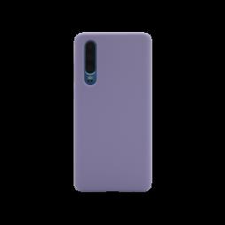 Huawei P30 - Silikonski ovitek (liquid silicone) - Soft - Lavender Gray