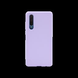 Huawei P30 - Silikonski ovitek (liquid silicone) - Soft - Lilac Purple