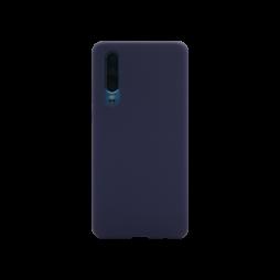 Huawei P30 - Silikonski ovitek (liquid silicone) - Soft - Midnight Blue