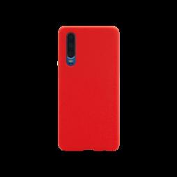 Huawei P30 - Silikonski ovitek (liquid silicone) - Soft - Red