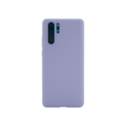 Huawei P30 Pro - Silikonski ovitek (liquid silicone) - Soft - Lavender Gray