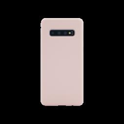 Samsung Galaxy S10 - Silikonski ovitek (liquid silicone) - Soft - Pink Sand