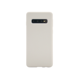 Samsung Galaxy S10 - Silikonski ovitek (liquid silicone) - Soft - Stone