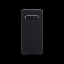 Samsung Galaxy S10+ - Silikonski ovitek (liquid silicone) - Soft - Black