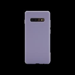 Samsung Galaxy S10+ - Silikonski ovitek (liquid silicone) - Soft - Lavender Gray