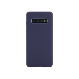 Samsung Galaxy S10+ - Silikonski ovitek (liquid silicone) - Soft - Midnight Blue