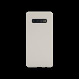 Samsung Galaxy S10+ - Silikonski ovitek (liquid silicone) - Soft - Stone