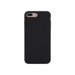 Apple iPhone 7 Plus / 8 Plus - Silikonski ovitek (liquid silicone) - Soft - Black