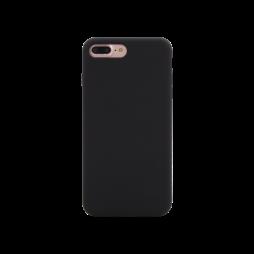 Apple iPhone 7 Plus / 8 Plus - Silikonski ovitek (liquid silicone) - Soft - Black