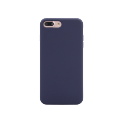 Apple iPhone 7 Plus / 8 Plus - Silikonski ovitek (liquid silicone) - Soft - Midnight Blue