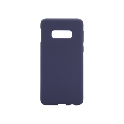 Samsung Galaxy S10e - Silikonski ovitek (liquid silicone) - Soft - Midnight Blue