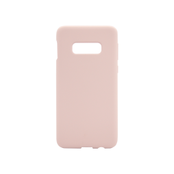 Samsung Galaxy S10e - Silikonski ovitek (liquid silicone) - Soft - Pink Sand
