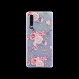 Huawei P30 - Gumiran ovitek (TPUP) - Pink Roses