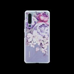Huawei P30 - Gumiran ovitek (TPUP) - Purple Roses