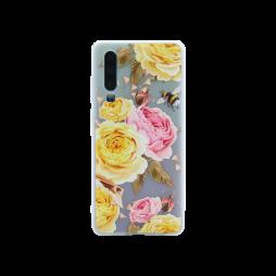 Huawei P30 - Gumiran ovitek (TPUP) - Yellow Roses