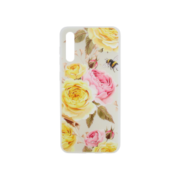 Samsung Galaxy A50/A30s/A50s - Gumiran ovitek (TPUP) - Yellow Roses