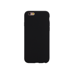 Apple iPhone 6Plus/6S Plus - Silikonski ovitek (liquid silicone) - Soft - Black