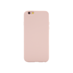 Apple iPhone 6Plus/6S Plus - Silikonski ovitek (liquid silicone) - Soft - Pink Sand