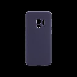 Samsung Galaxy S9 - Silikonski ovitek (liquid silicone) - Soft - Midnight Blue