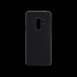 Samsung Galaxy S9+ - Silikonski ovitek (liquid silicone) - Soft - Black