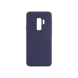 Samsung Galaxy S9+ - Silikonski ovitek (liquid silicone) - Soft - Midnight Blue