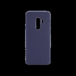 Samsung Galaxy S9+ - Silikonski ovitek (liquid silicone) - Soft - Midnight Blue
