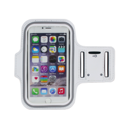 Športna torbica za na roko iPhone 6/6s Plus (PT) - bela