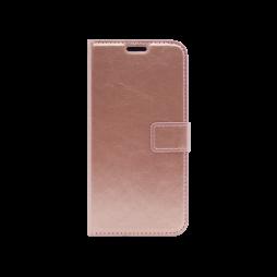 Samsung A105 Galaxy A10 - Preklopna torbica (WLC) - roza-zlata