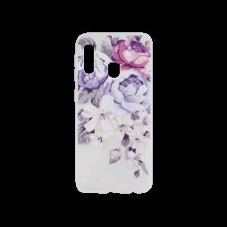 Samsung Galaxy A20e - Gumiran ovitek (TPUP) - Purple Roses
