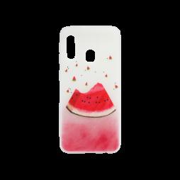 Samsung Galaxy A20e - Gumiran ovitek (TPUP) - Watermelon